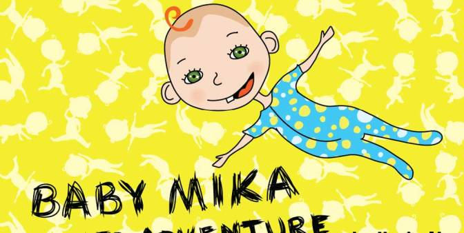 Baby Mika wants adventure!