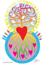 Peace and Love (Project for a Therapist Reception)