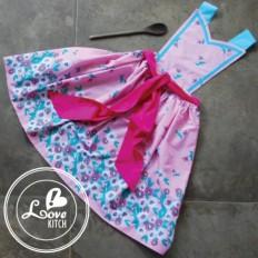 Avental - Laco rosa