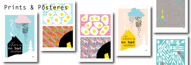 Paleo prints (and more) up on my web store!