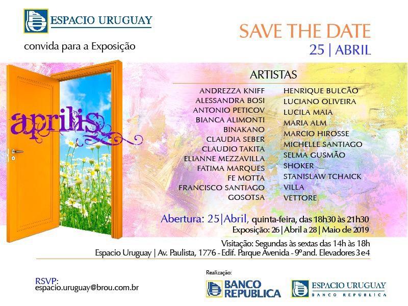 """Aprilis"" at Espaco Uruguay (Sao Paulo)"
