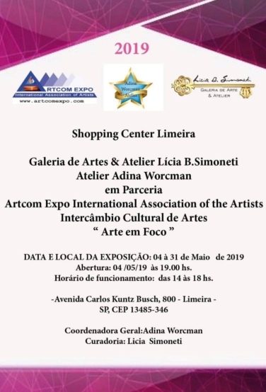 """""""Arte em Foco"""" by Artcom Expo International Association"""