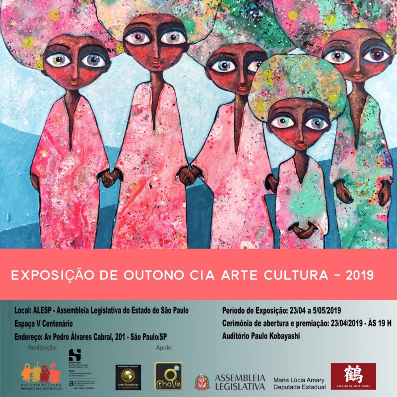 """""""Exposição do Outono 2019"""" at Cia Arte e Cultura (Sao Paulo)"""