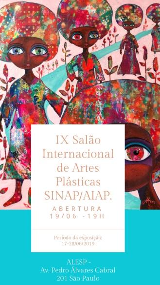 """""""IX Salão Internacional de artes Plásticas Sinap/Aiap"""" at Alesp"""